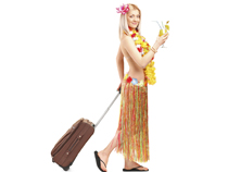 Urlaub ist die schönste Zeit - zumindest wenn die gravierenden Risiken abgesichert werden.