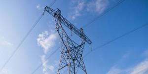 Energiewirtschaft Strommast